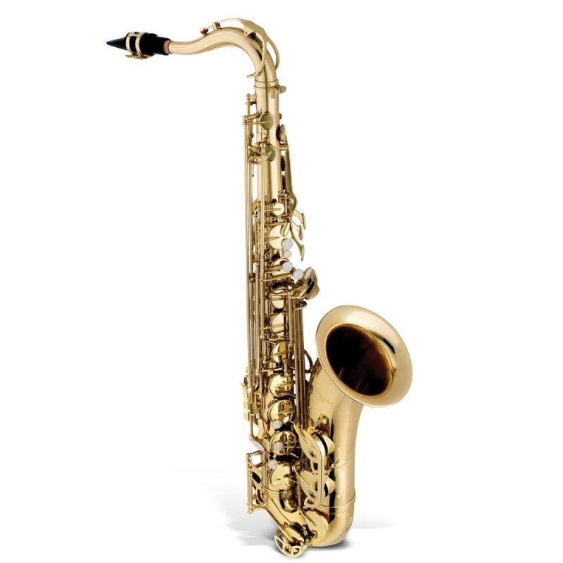 Saxofone Tenor Vogga VSTS701N Afinação em Bb Si Bemol Campana Ornamentada Dourado