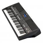 Teclado Arranjador Yamaha PSR-SX600 LCD Colorido USB Memória 100MB Preto