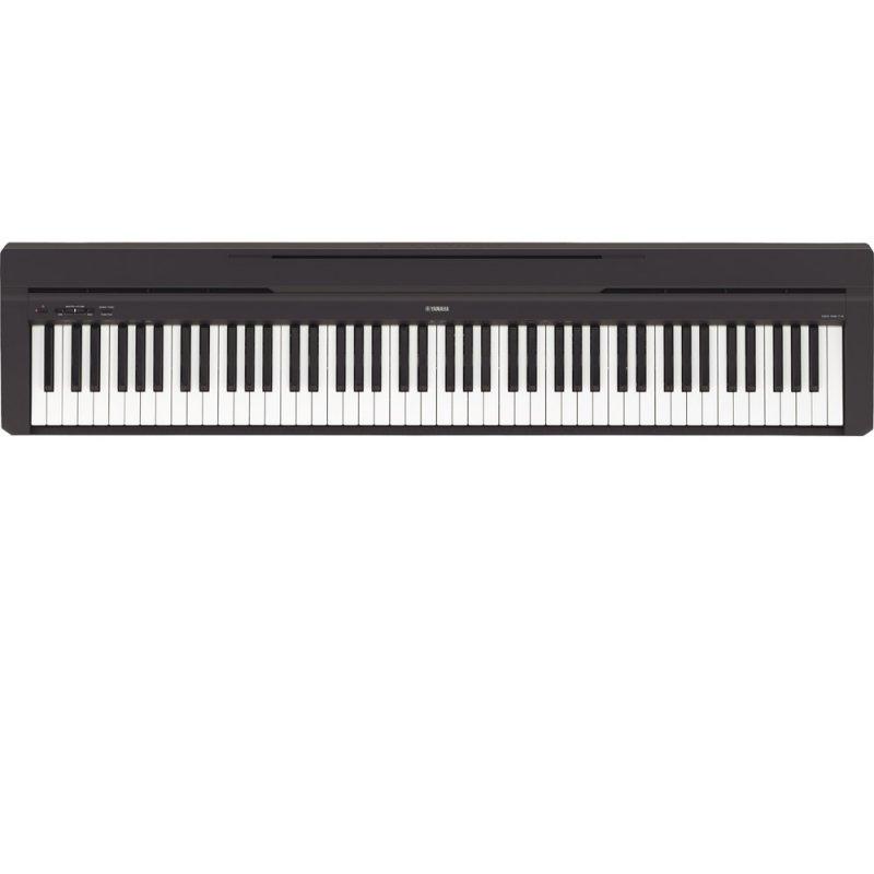 Piano Digital Yamaha P-45B Compacto com 88 teclas 10 Sons e 64 Notas Polifônicas