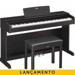Piano Digital Yamaha Arius YDP-143B Preto 88 Teclas