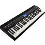 Piano Digital Roland GO-61P Preto 61 Teclas 128 Notas de Polifonia com Bluetooth