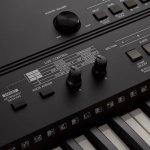 Teclado Musical Yamaha PSR-EW410 Preto Bivolt com 76 Teclas e 758 Sons