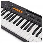 Teclado Musical Casiotone CT-S100 Casio Preto 61 Teclas Bivolt e Suporte Partituras