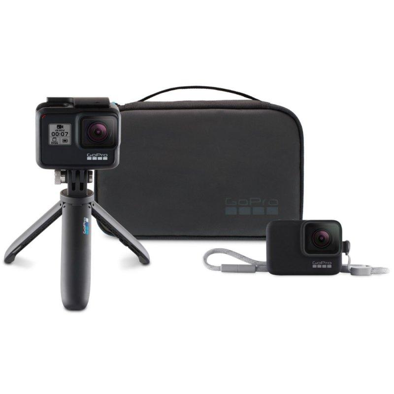 Kit de Viagem Acessórios GoPro (Shorty e Capa de Silicone) AKTTR-001