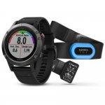 Relógio Multiesportivo Garmin Fenix 5 Cinza com Monitor Cardíaco no Pulso Performer Bundle