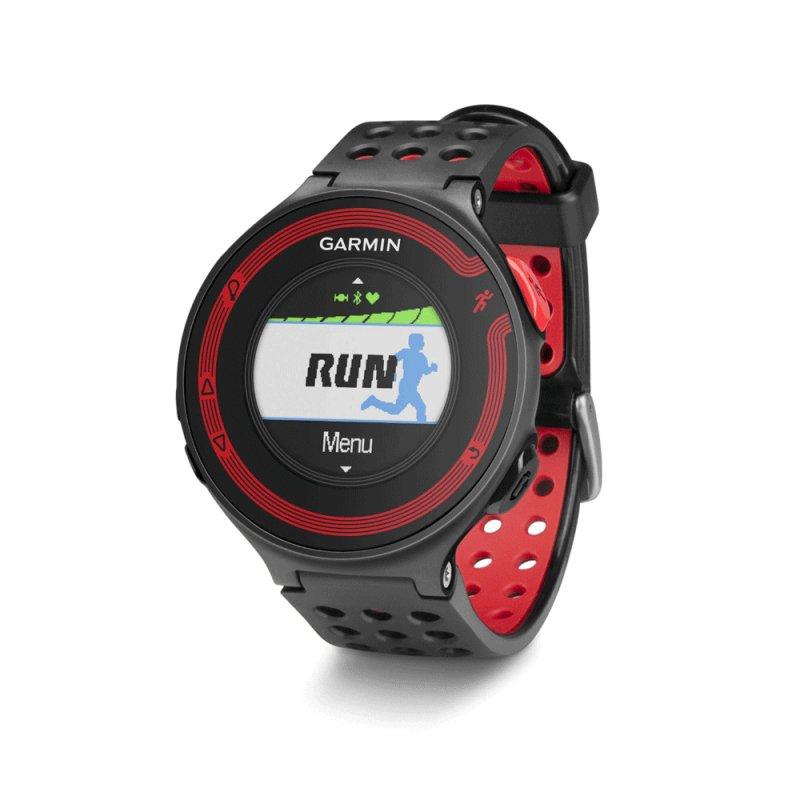 facdb97fcec Relógio Garmin Forerunner 220 com Cinta de Monitoramento Cardíaco GPS  Vermelho e Preto
