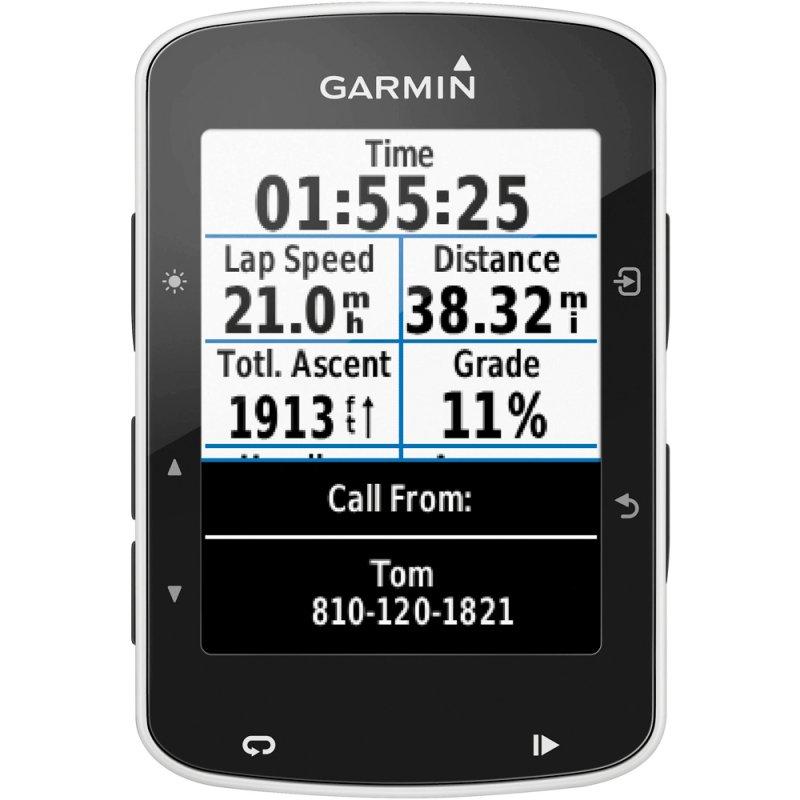 Ciclocomputador Edge 520 Garmin GPS Segmento Strava Alta Resolução 2,3 Preto