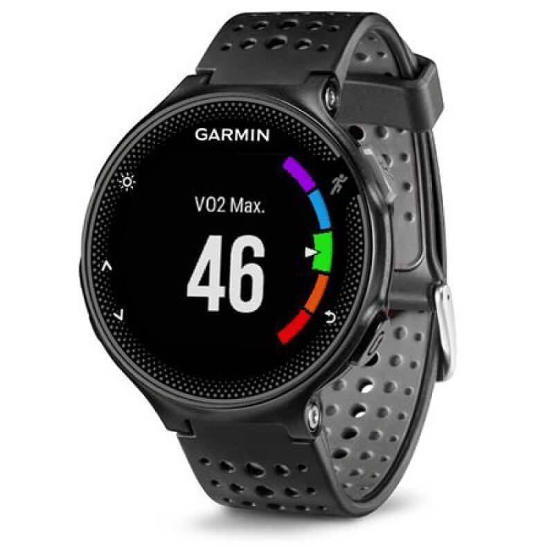 Relógio com Monitor Cardíaco Embutido Garmin Forerunner 235 Preto com Bluetooth e GPS