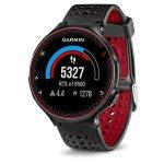 Relógio com Monitor Cardíaco Embutido Garmin Forerunner 235 Vermelho com Bluetooth e GPS