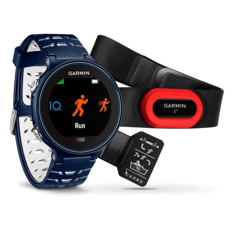fb58f2c8178 Relógio com Monitor Cardíaco Garmin Forerunner 630 Azul com Bluetooth Touch  Screen e GPS