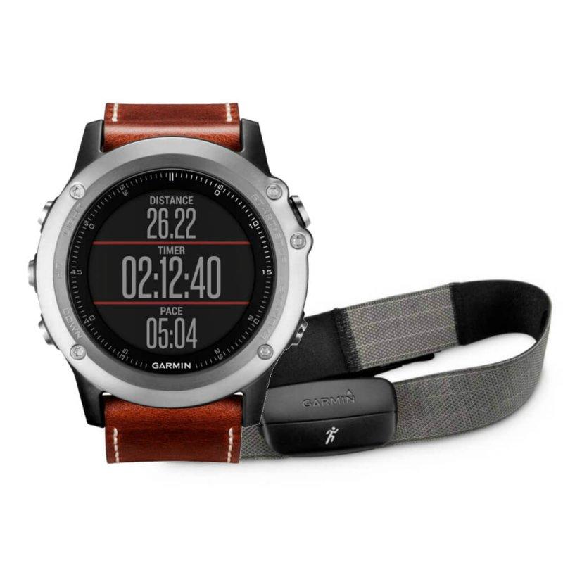 1f782ccf826 Relógio Esportivo Garmin Fenix 3 Safira Cinza - Compre Online ...