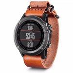Relógio Multiesportivo Garmin Fenix 3 Safira Nato com GPS GLONASS e Resistência à Água