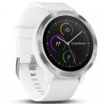 Relógio inteligente Vívoactive 3 Garmin Branco 010-01769-20 GPS com Medição de Frequência Cardíaca