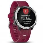 Relógio Esportivo Garmin Forerunner 645 Music Cereja 010-01863-21 com GPS e Monitor Cardíaco