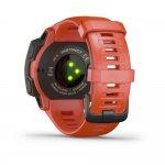 Relógio Multiesportivo Garmin Instinct Vermelho Com Monitor Cardíaco e GPS