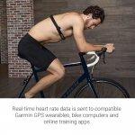 Cinta para monitoramento cardíaco Garmin HRM Dual Preto