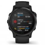 Relógio Multiesportivo Garmin Fenix 6S Pro Cinza com Monitoramento Cardíaco no Pulso