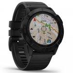 Relógio Multiesportivo Garmin Fenix 6X Pro Cinza com Monitoramento Cardíaco no Pulso