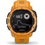 Relógio Multiesportivo Garmin Instinct Amarelo Com Monitor Cardíaco e GPS