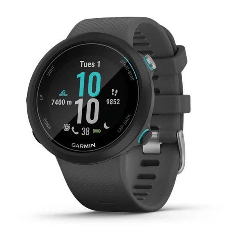 Relógio Multiesportivo Garmin Swim 2 Cinza Com Monitor Cardíaco e GPS