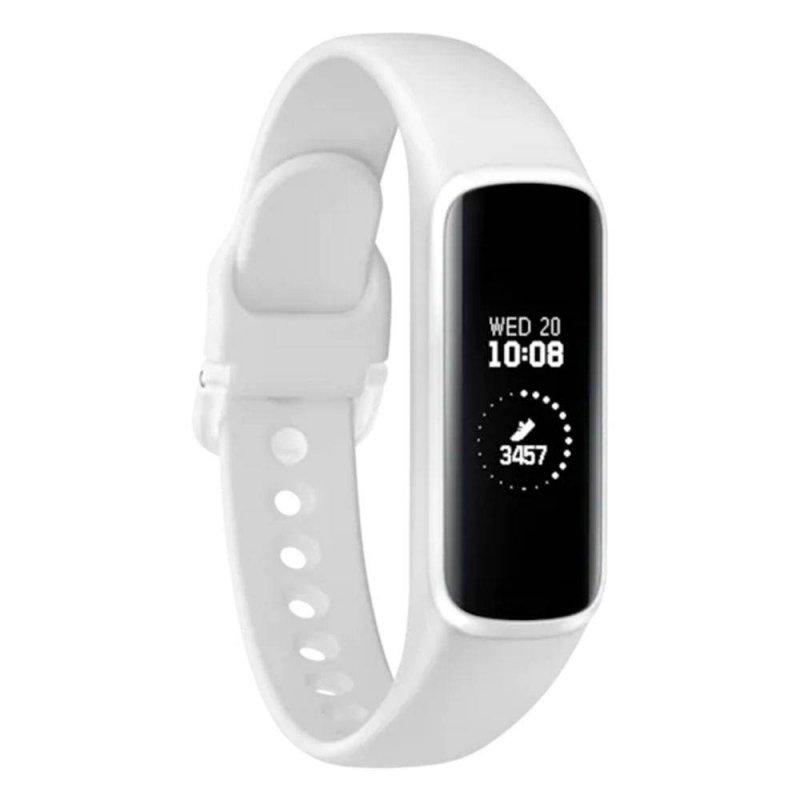 Smartwatch Samsung Galaxy FITe Branco com Monitoramento Cardíaco Bluetooth