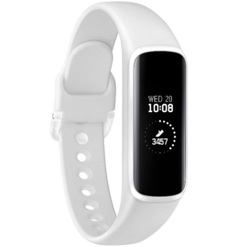 Smartwatch Samsung Galaxy FITe Branco com Monitoramento Cardíaco Bluetooth Resistência a água