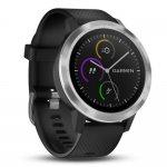 Relógio inteligente Vívoactive 3 Garmin Preto 010-01769-00 GPS com Medição de Frequência Cardíaca