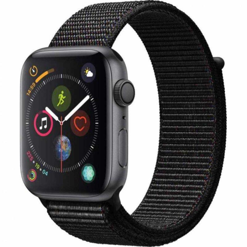 Apple Watch Series 4 GPS 44 mm Alumínio Cinza Espacial Pulseira Esportiva Loop