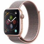 Apple Watch Series 4 GPS 44 mm Alumínio Dourado Pulseira Esportiva Loop Rosa