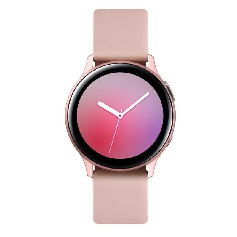 Smartwatch Samsung Galaxy Watch Active Rose com Monitoramento Cardíaco Bluetooth