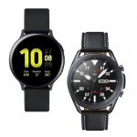 Smartwatch Samsung Galaxy Watch 3 45mm LTE e Relógio Samsung Galaxy Watch Active2 BT 44mm Preto