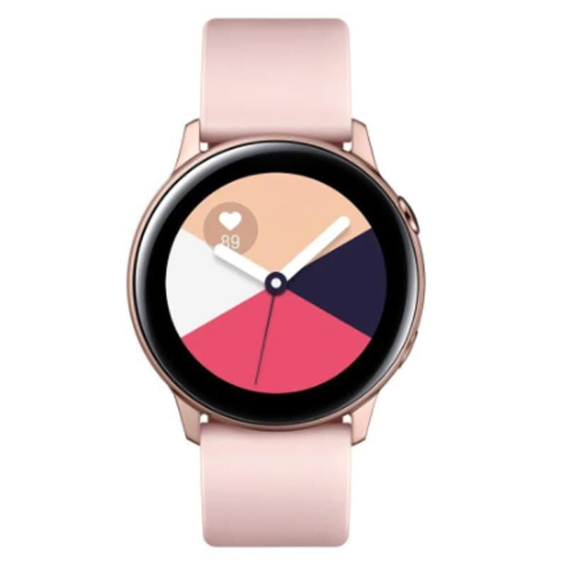 REEMBALADO Smartwatch Samsung Galaxy Watch Active Rose com Monitoramento Cardíaco Bluetooth