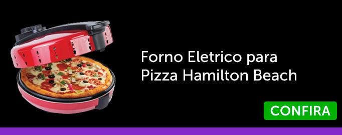 Forno Eletrico para Pizza Hamilton Beach 127V Vermelho