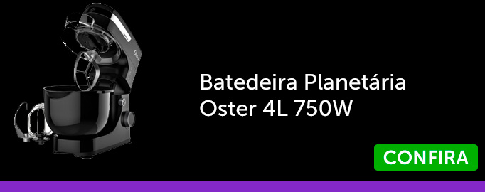 Batedeira Planetária  Oster 4L 750W