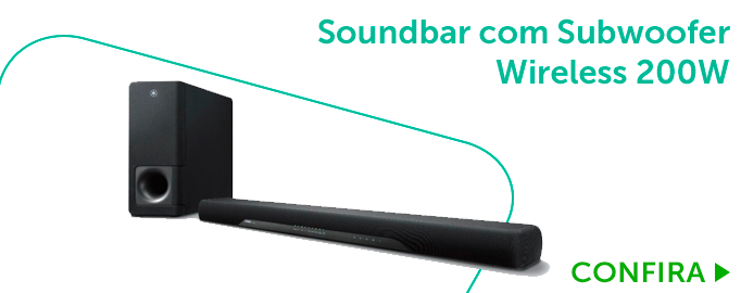 Soundbar com Subwoofer Wireless 200W Bivolt_BL3