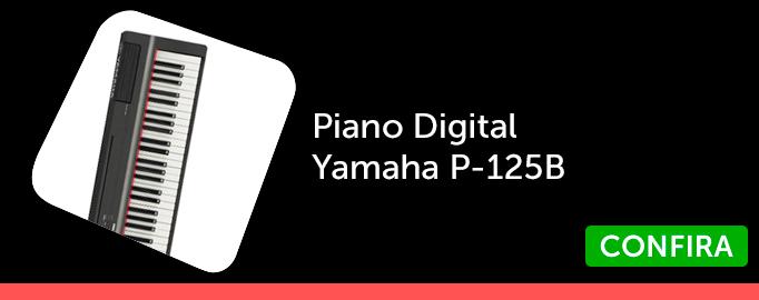 Piano Digital Yamaha P-125B_BL3