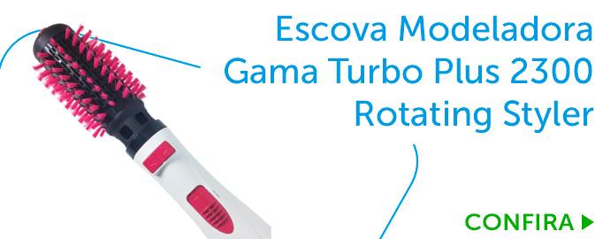 Escova Modeladora Gama Turbo Plus 2300 Rotating Styler_BL3