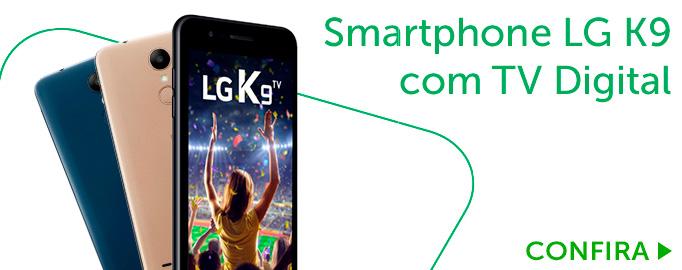 Smartphone LG K9 com TV Digital Dourado 16GB Tela 5