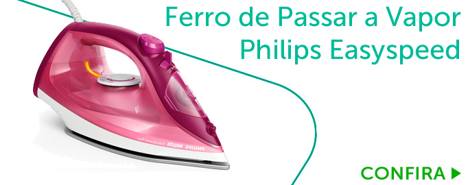Ferro de Passar a Vapor Philips Easyspeed Plus