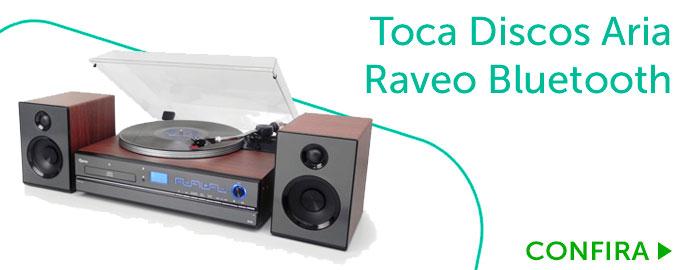 Toca Discos Raveo Aria