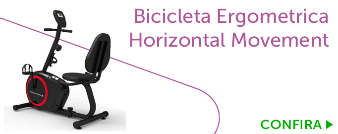 Bicicleta Ergometrica Horizontal Movement H2