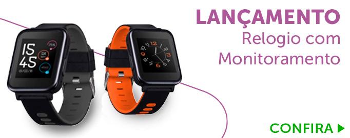 Relógio com Monitoramento Cardíaco Multiwatch Multilaser