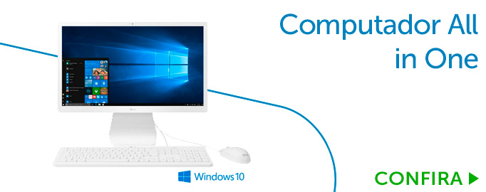 Computador All in One 21,5 Full HD