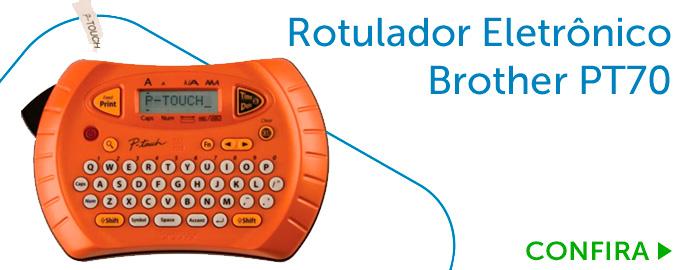 Rotulador Eletrônico Brother PT70 Portátil