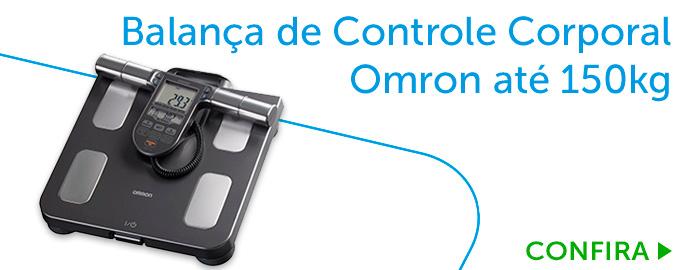 Balança de Controle Corporal Omron até 150 kg