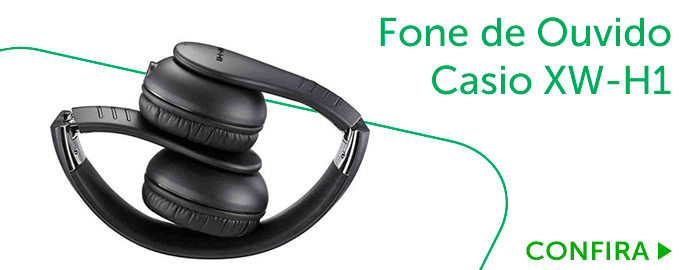 Fone de ouvido Casio