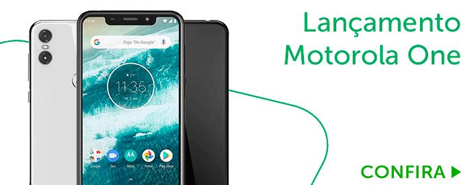 Lançamento Motorola One