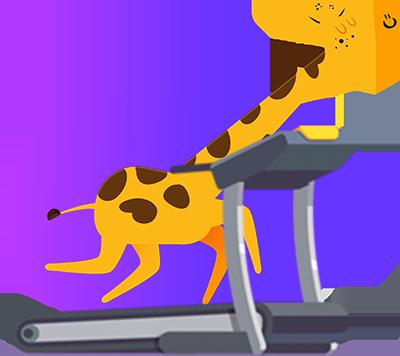 Girafa fitness